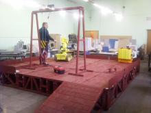 Обучение операторов комплекса МРК-27-МА-БАЭС на специальном стенде-имитаторе помещения бассейна выдержки Белоярской АЭС