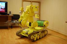 Мобильный робототехнический комплекс МРК-27-МА-БАЭС в момент передачи Заказчику