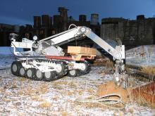 роб почвы с поверхности с помощью МРК-27-МА