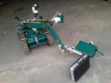 Отработка технологии поиска взрывоопасных веществ с помощью МРК-27-ВТ и газоанализатора